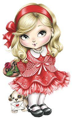 Jolie da Tilibra com fundo Marrom e Rosa - Kit Completo com molduras para…
