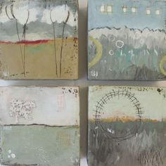 stephanie lee - lovely ... would make awesome art journal pages, writing on top etc ...
