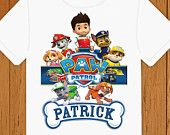 paw_patrol_shirt on Etsy, a global handmade and vintage marketplace.