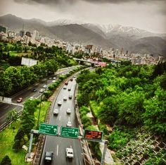 Tehran via picturesoftehran