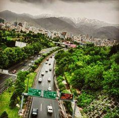 Tehran via picturesoftehran