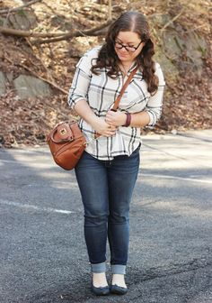 Sincerely, Sara | Style & Books: Outfit: Modern Plaid