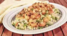 CARLA HALL Spicy Shrimp Succotash