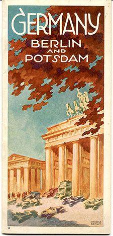 Germany 1930 Willy Dzubas Berlin and Potsdam