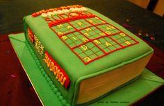 Sudoku cake