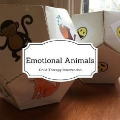 Emotional identification is something that is almost always worked on in child therapy. One fun way to do this is by using the emotional animals dice game! I have seen this game online before, but … Therapy Games, Art Therapy Activities, Therapy Tools, Music Therapy, Play Therapy, Work Activities, Therapy Ideas, Bodybuilder, Child Development Psychology