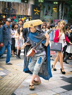 Seen on the street in Harajuku. | Tokyo Fashion