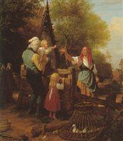 Abschiedswink by Friedrich Eduard Meyerheim