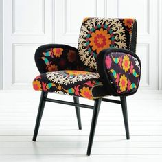 Jazmin Suzani Armchair - Chairs & Armchairs - Chairs - Furniture