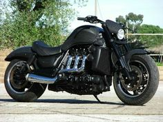 Triumph Rocket, Steampunk Motorcycle, Motorcycle Style, Cool Motorcycles, Triumph Motorcycles, Harley Davidson, Baby Bike, Performance Bike, Cafe Racer Bikes