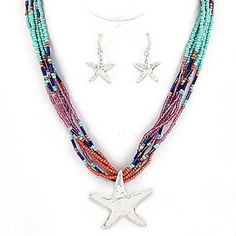 Adorn By Lulu- Under the Sea Starfish Necklace