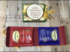 Join me for the 12 days of Christmas where I will be showing you a new project every day. Use these gifts for friends coworkers or as a secret Santa gift. Twinings Tea, Easy Coffee, Twelve Days Of Christmas, Christmas Coffee, Secret Santa Gifts, Gifts For Friends, Herbalism, Paper Crafts, Bag