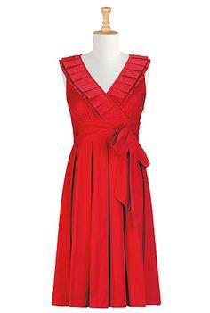 I <3 this Paris dress from eShakti