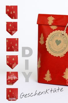 DIY gift bags Homemade gifts Here is a DIY guide for small bags from the remains of wrapping paper. Totally practical for small gifts or give-aways. Fabric Gift Bags, Paper Gift Bags, Paper Gifts, Diy Paper, Easy Diy Gifts, Simple Gifts, Creative Gifts, Homemade Gifts, Small Gift Bags