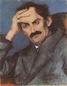 Rippl-Rónai József, Babits Mihály (1923, Magyar Nemzeti Galéria, Budapest)