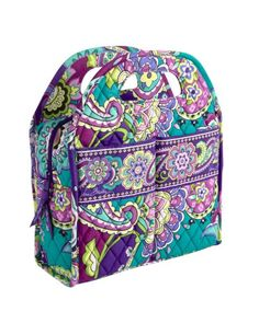 Lunch Tote | Vera Bradley in heather