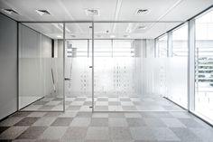 Office - Window manifestation graphics in London