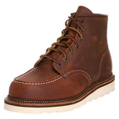 61400cc0b Red Wing Heritage Men s Classic Work 6-Inch Moc Toe Boot - Leather Mens  Shoes