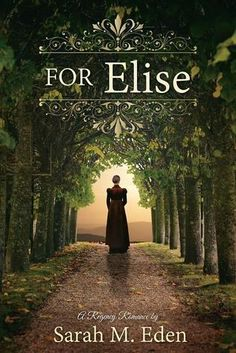 Latest and Greatest Book - For Elise by Sarah M Eden. I love all of her books, but this one was awesome.
