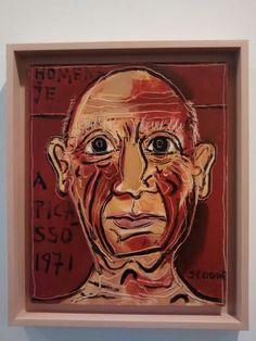 Homenaje a Picasso. Luis Seoane. Celtic, Painting, Lion Sculpture, Statue, Art, Picasso, Portrait, Art World
