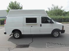 2008 Chevy Express 2500 120K Miles New High Top and window