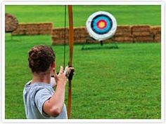 In Archery class, the girls learn basic shooting skills and work through the American Archer progression levels.