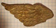 Купить Крыло в позолоте на аукционе антиквариата Виолити auction.violity.com