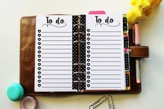 PERSONAL To do list with hearts and dots cute por Geekygadget