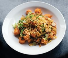 I cannot wait to make this.... Momofuku Ssam Bar's Spicy Pork Sausage & Rice Cakes | Lucky Peach