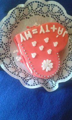 Cake me + i = we
