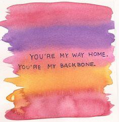 my way home <3