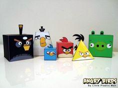 """Как сделать """"Angry birds"""" в домашних условиях"""