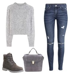 """""""Untitled #33"""" by museavenue on Polyvore featuring Wood Wood, H&M and Timberland"""