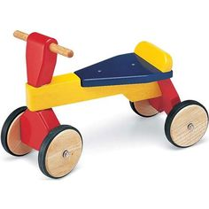 Buy First Trike from Mulberry Bush, an online toyshop for traditional and wooden children's toys, gifts and games delivered throughout the UK
