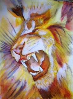 The Lion of Judah!! - art by Frankie Carson