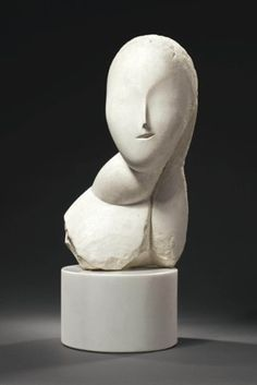 Constantin Brancusi (1867-1957)  Une muse  Price realised  USD 12,402,500 Estimate USD 10,000,000 - USD 15,000,000 Change Currency  Add to Interests Constantin Brancusi (1867-1957)  Une muse  plaster  Height: 18 in. (45.7 cm.)  Executed in 1912
