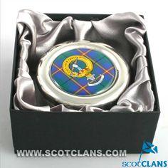 Carmichael Clan Crest Trinket Box