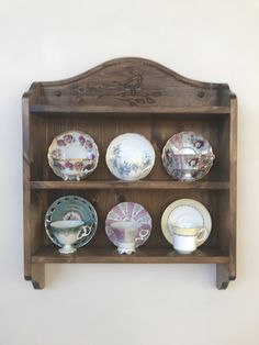 Tea cup shelf  Robin