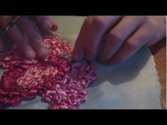 silk ribbon embroidery - Ribbon embroidery Video