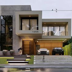 10 most amazing modern buildings - house items federation house house inspo house facades ideas manchines houses shiplap house kail lo - Modern Exterior House Designs, Modern House Facades, Modern Villa Design, Dream House Exterior, Modern Architecture House, Modern House Plans, Modern Buildings, Exterior Design, Architecture Design