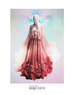 Romantic Otherworldly Ads : Alexander McQueen Spring 2012 campaign