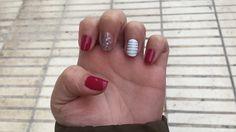 #me #nails #shellac #desing #creative #art #tintedlove #alicante #albir #colores #rayas #uñas #creativas