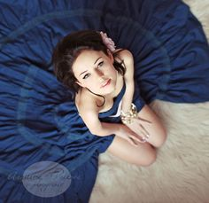 Inspiration By Exploration: Journey Through Fine-Art Photography Sand And Water, Body Reference, Senior Girls, Boudoir Photography, Pretty Face, Shades Of Blue, Blue Dresses, Halter Dresses, Cute Pictures