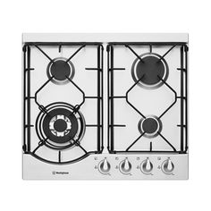 Its 4 burners, including a high-powered wok burner and safety features like FamilySafe trivets and flame failure device make the Westinghouse 4 Burner Gas Cooktop a sharp contemporary addition to any kitchen. Laundry Appliances, Home Appliances, Stainless Steel Casting, Home Appliance Store, Floor Rugs, A Good Man, Tops, Harvey Norman, Knob