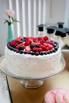 Berry Chantilly Cake // a recipe - Simple, Like Love photo: Samantha Broderick Photography