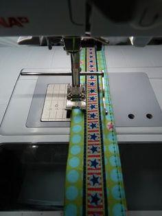 emmeline - stoff * trends & mehr: Tutorial: Gürtel, Schlüsselband und Taschenhenkel mit Bundfix