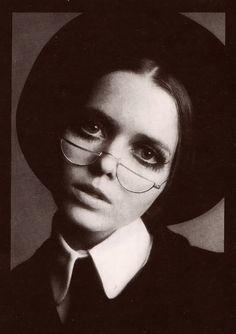 Biba model Stephanie Farrow. Photograph by Hans Feurer. Image scanned by Sweet Jane.