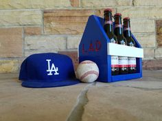 Check out this item in my Etsy shop https://www.etsy.com/listing/481805817/customizable-dodgers-beer-tote