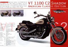 Honda VT1100 C2 Shadow (American Classic Edition) - brochure