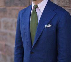 Shibumi - handmade ties & other accessories - made — Shibumi Olive Grossa Grenadine Tie Works perfectly...